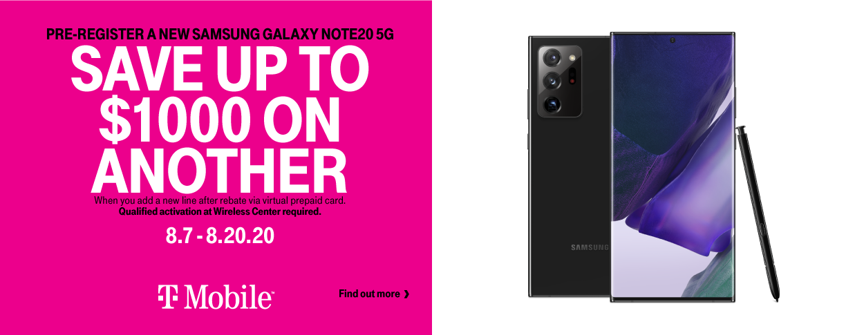 T-Mobile Note20
