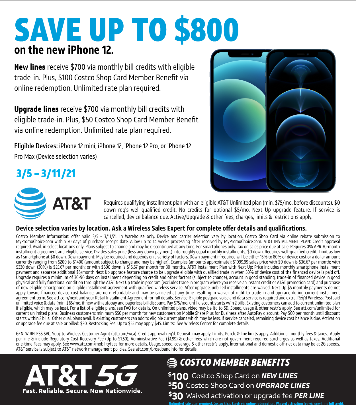 AT&T iPhone Offer