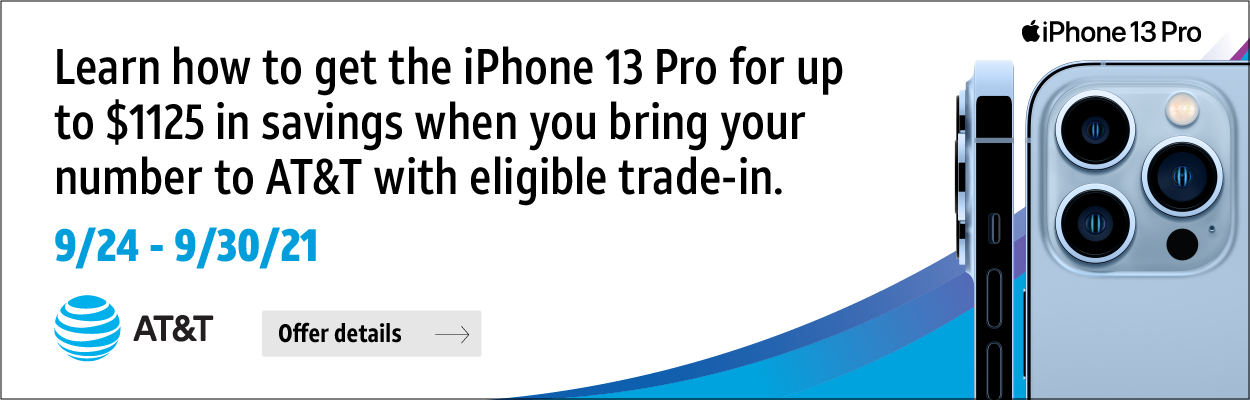 AT&T iPhone 13 Offer