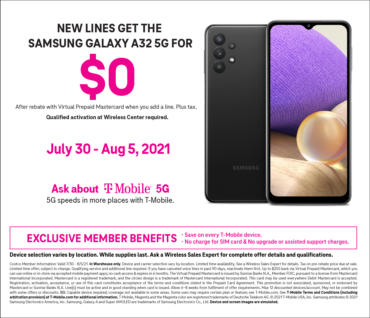 T-Mobile Galaxy S21 Offer