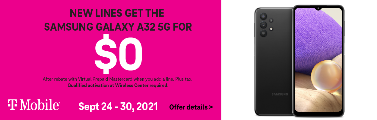 T-Mobile Samsung A32 Offer