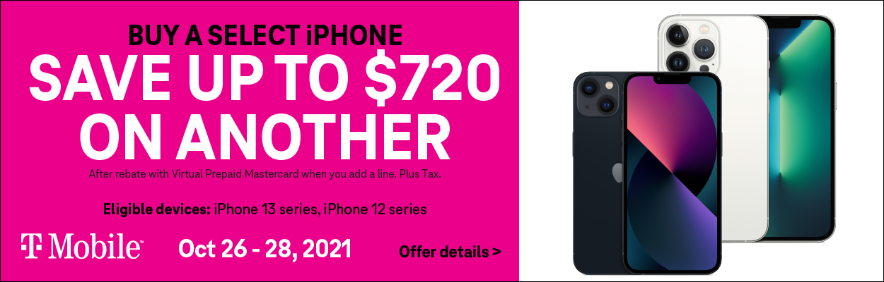 T-Mobile iPhone 13 Offer