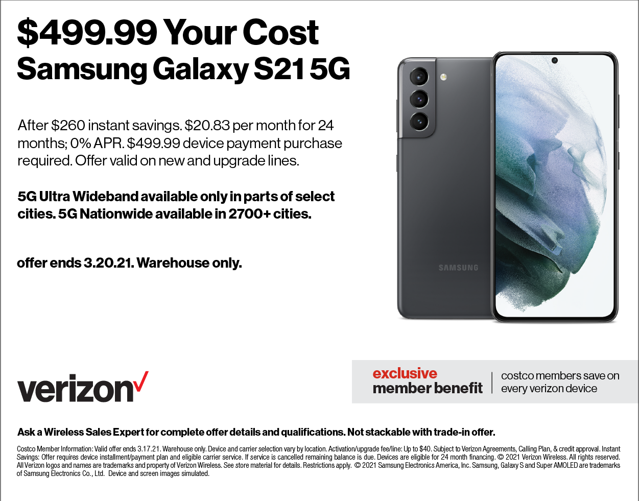 Verizon Samsung Offer