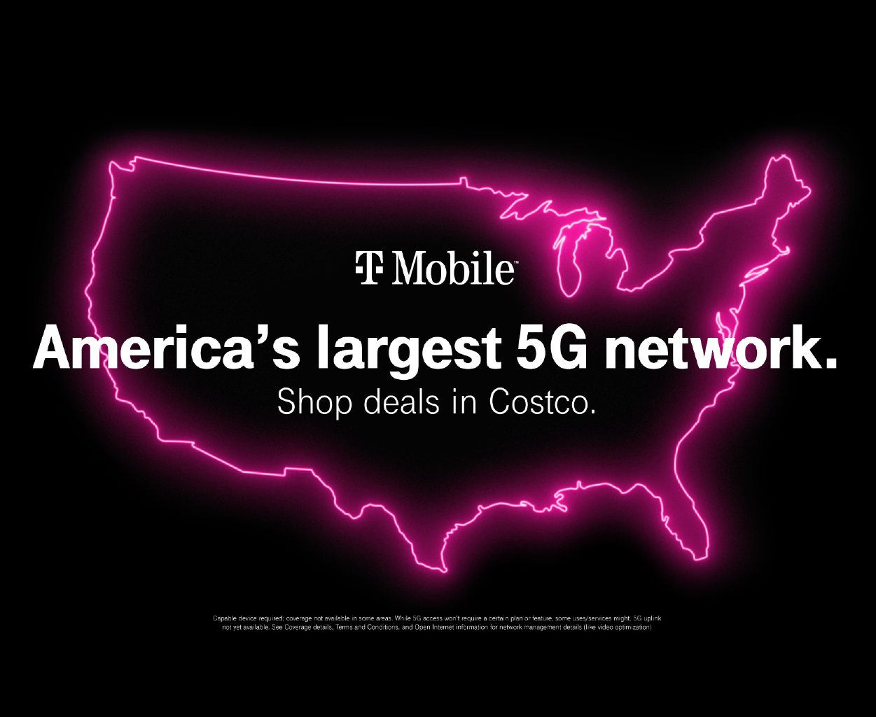T-Mobile America's Largest 5G Network